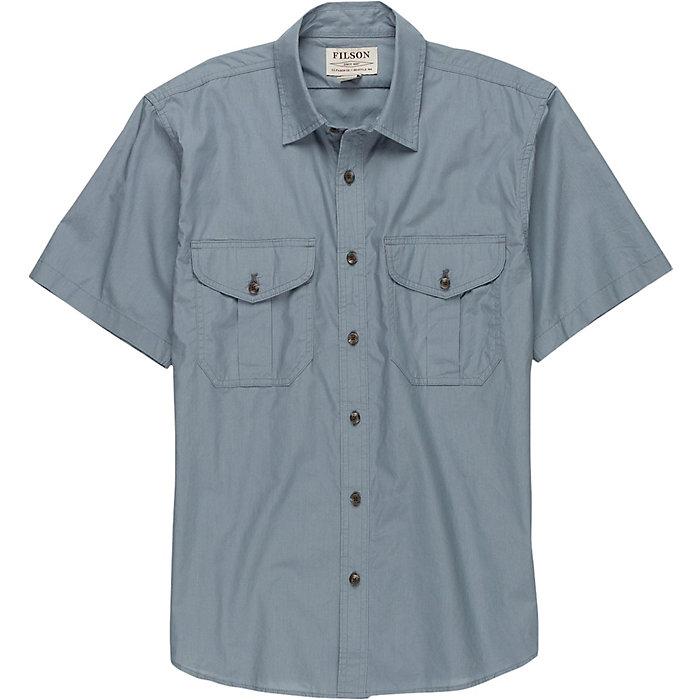 e7d7d57d5ddf9 Filson Men s Short Sleeve Feather Cloth Shirt - Moosejaw