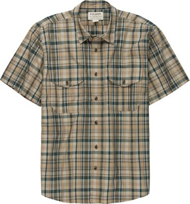 Filson Men's Short Sleeve Feather Cloth Shirt