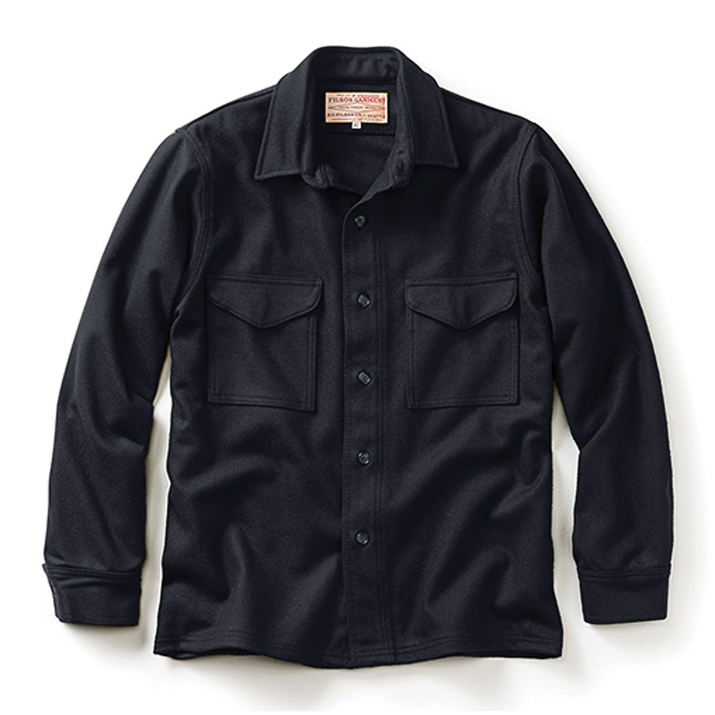 Filson Mens Jac Shirt Navy