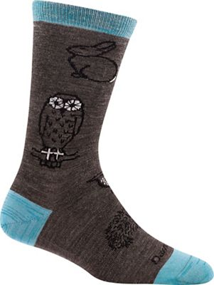 Darn Tough Women's Woodland Creatures Light Crew Sock