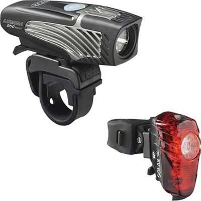 NiteRider Lumina 950 Boost & Solas 100 Combo Bike Light