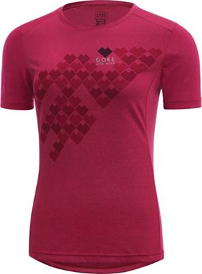 Gore Bike Wear Women's Element Lady Digi Heart Shirt