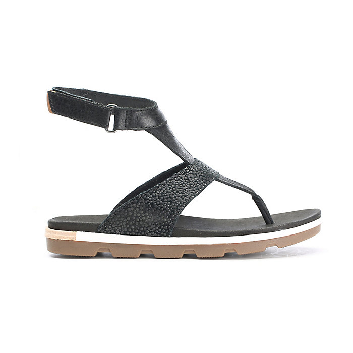 55ca39c98bc Sorel Women s Torpeda Ankle Strap Sandal. Double tap to zoom. Black   White
