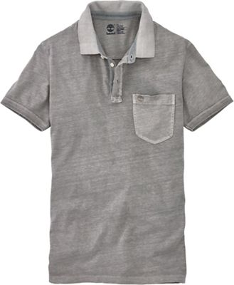 Timberland Men's Ashuelot River Cotton/Linen SS Polo