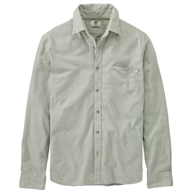 Timberland Men's Flannel Heathered LS Shirt