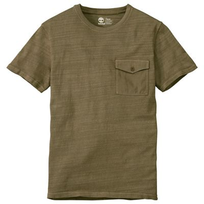 Timberland Men's Great Brook Slub Knit Tee