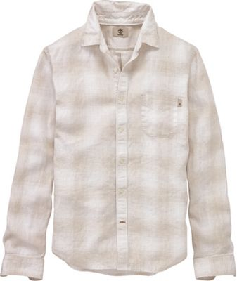 Timberland Men's Mill River Linen Ombre Plaid LS Shirt
