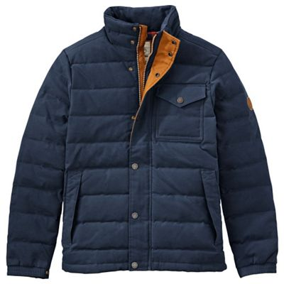 Timberland Men's Mt Davis Waxed Down Jacket