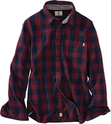 Timberland Men's Sugar River LW Plaid Cargo LS Shirt