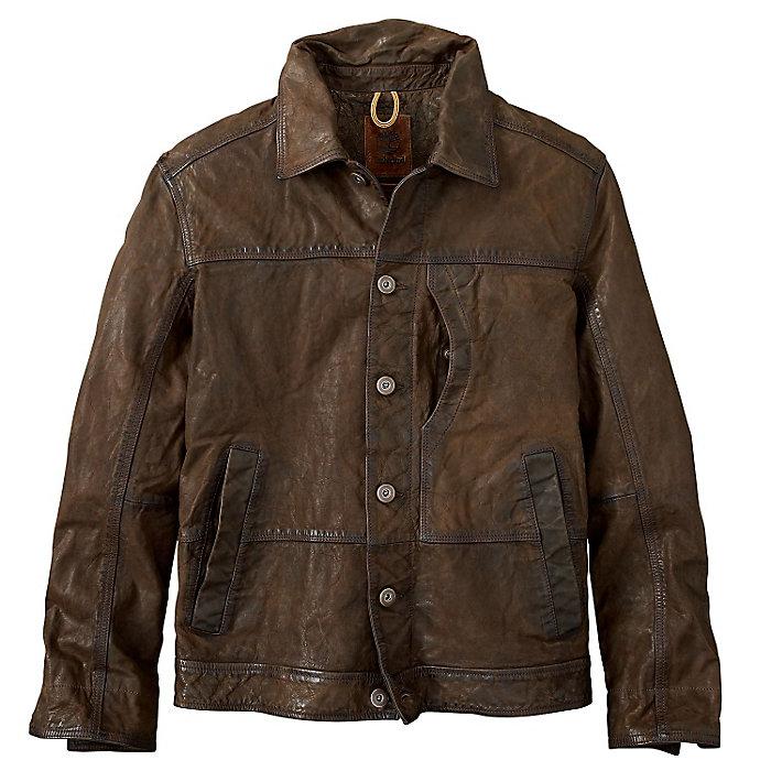 Timberland Men s Tenon Leather Bomber Jacket - Moosejaw b679a89323