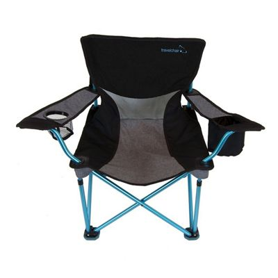 Travel Chair Frenchcut Aluminum Chair