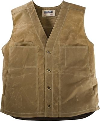 Stormy Kromer Waxed Button Vest With Lining