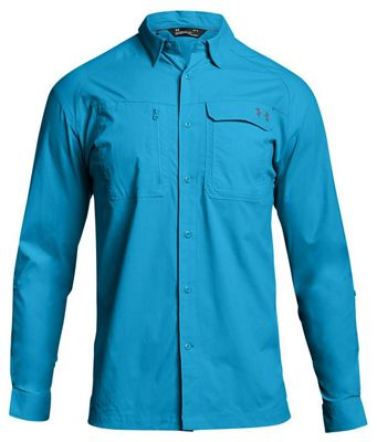 Under Armour Men's UA Fish Hunter LS Solid Shirt