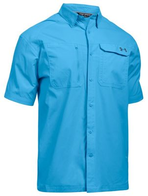 Under Armour Men's UA Fish Hunter SS Solid Shirt