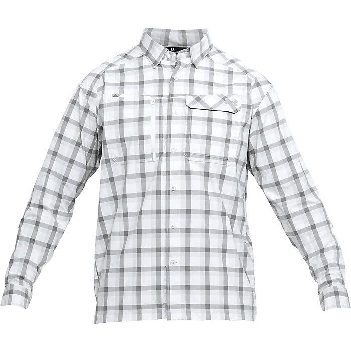 615edf6000 Under Armour Men's UA Fish Hunter LS Plaid Shirt - Moosejaw