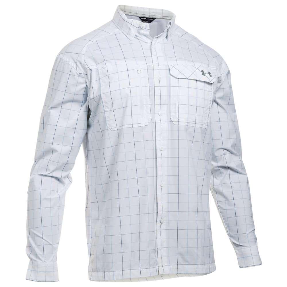 Under armour men 39 s ua fish hunter ls plaid shirt at for Under armour fish hunter shirt