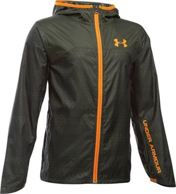 Under Armour Boys' UA Leeward Windbreaker Jacket