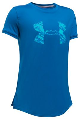 Under Armour Girls' UA Sunblock SS Tee