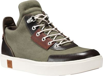 Timberland Men's Amherst High Top Canvas Chukka Shoe