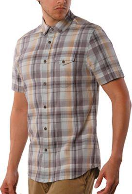 Jeremiah Men's Cecil Herringbone Plaid SS Shirt