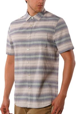 Jeremiah Men's Gibson Textured Chambray Stripe SS Shirt