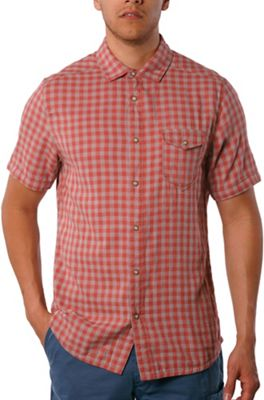 Jeremiah Men's Graham Reversible Melange Gauze SS Shirt