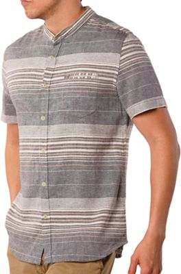 Jeremiah Men's Houghton Linen Cotton Stripe SS Shirt