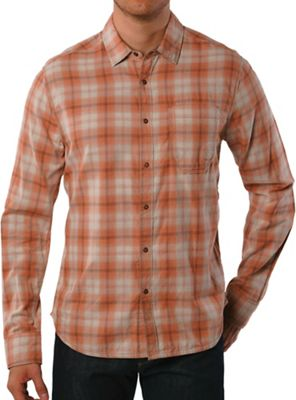 Jeremiah Men's Vogel Reversible Stripe with Plaid SS Shirt