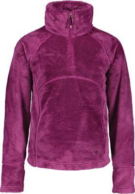 Obermeyer Girls' Furry Fleece Top