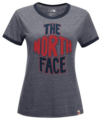 The North Face Women's S/S Americana Ringer Tee