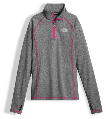 The North Face Girls' Pulse 1/4 Zip