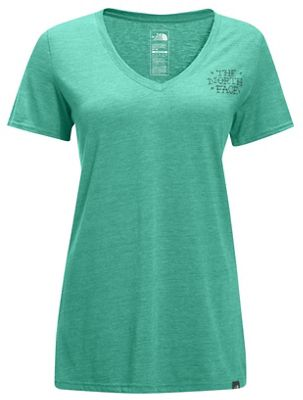 The North Face Women's S/S Stay Wild Wolf Tri-Blend Tee