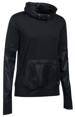 Under Armour Women's Threadborne Hybrid Pullover Top
