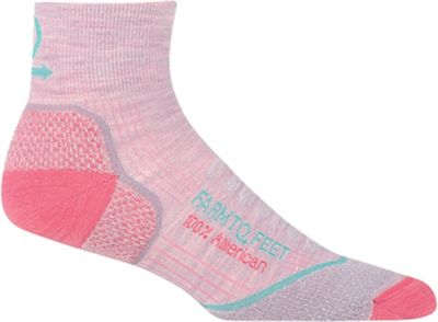 Farm To Feet Women's Damascus 1/4 LW Crew Sock