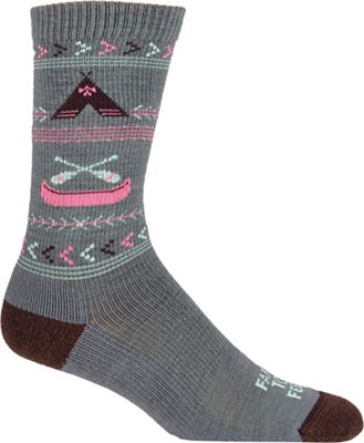Farm To Feet Women's Franklin Camp Everyday Crew Sock
