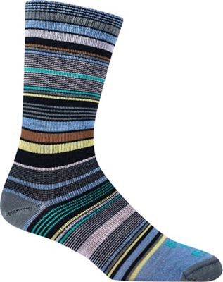 Farm To Feet Women's Ithaca Multi-Stripe UL Crew Sock