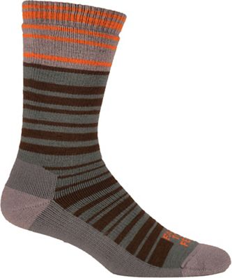 Farm To Feet Men's Mount Airy Super Stripe MW Crew Sock