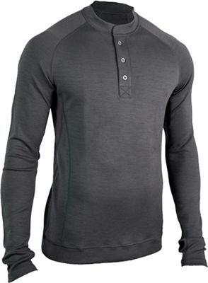 Showers Pass Men's Bamboo-Merino LS Sport Henley