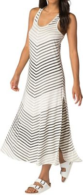 Beyond Yoga Women's Bring It Ommmbre Striped Midi Dress
