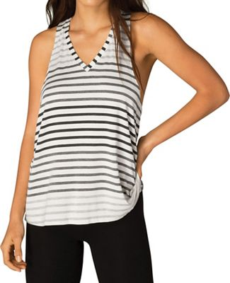 Beyond Yoga Women's Bring It Ommmbre Striped Racer Tank Top