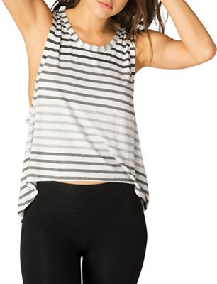 Beyond Yoga Women's Bring It Ommmbre Striped Muscle Tank Top