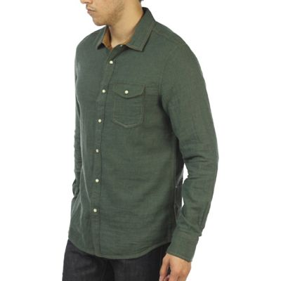 Jeremiah Men's Chase Reversible Melange Gauze Shirt