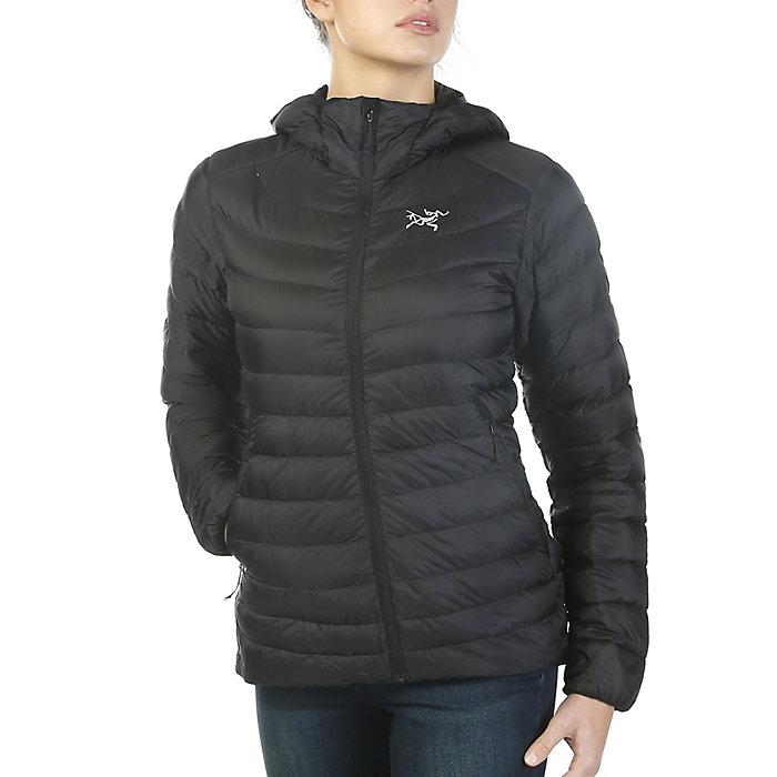 Womens Arc'teryx Cerium LT Down Hoodie in Black Size XL