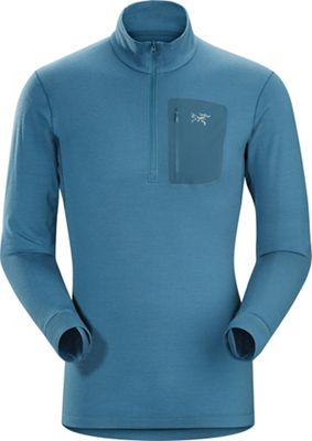 Arcteryx Men's Satoro SV Zip Neck LS Top