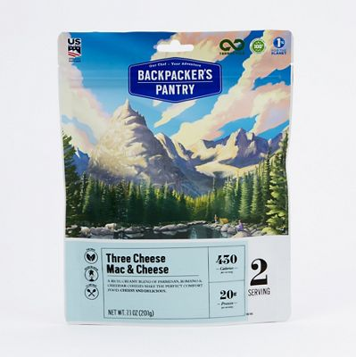 Backpacker's Pantry Three Cheese Mac and Cheese