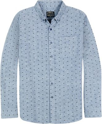 United By Blue Men's Bison Print Button Down Shirt