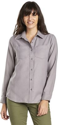 United By Blue Women's Pinedale Wool Button Down LS Shirt