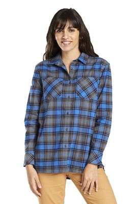 United By Blue Women's Tomek Relaxed Plaid LS Shirt