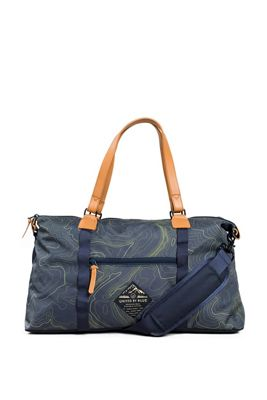 United By Blue Topography Trail Weekender Bag