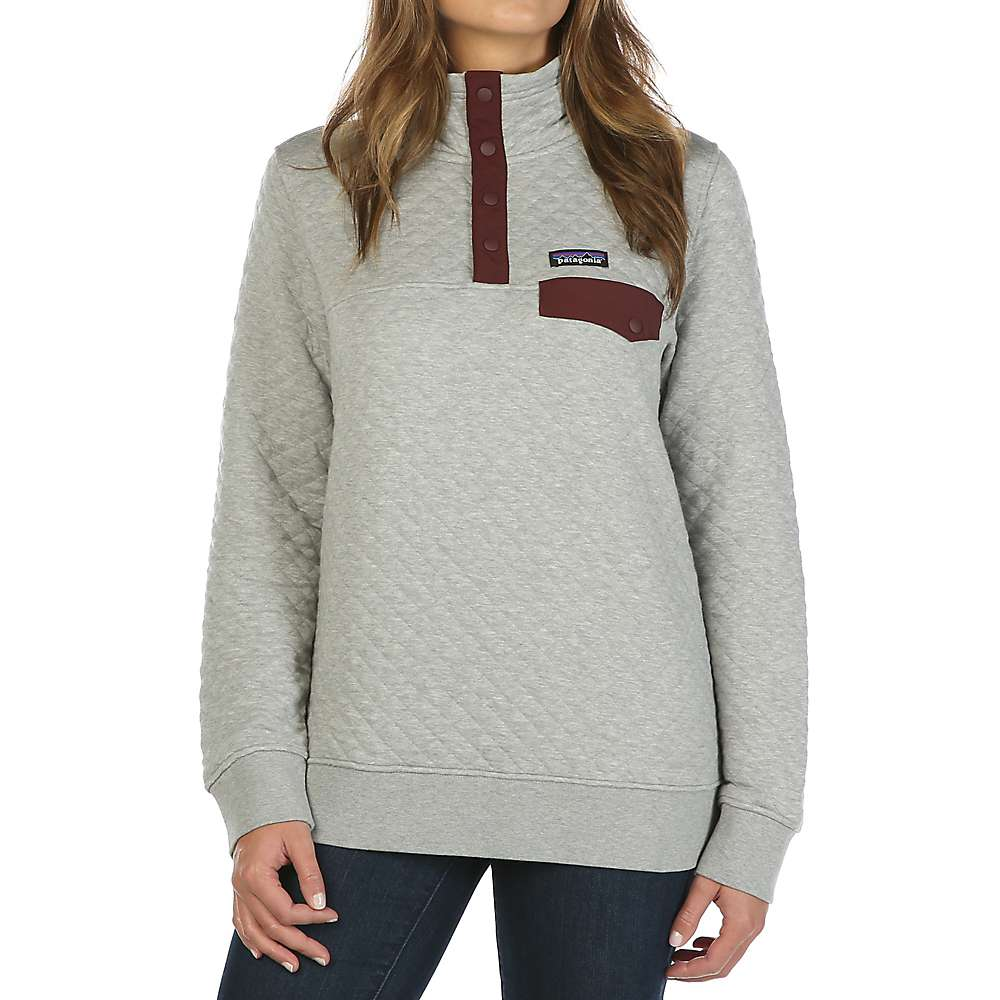 Patagonia Women S Cotton Quilt Snap T Pullover Mountain